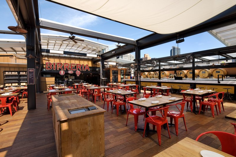 eataly nyc la birreria architecture bluemountain capital management office tpg architecture